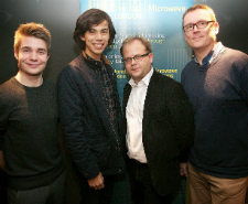 Rafael Kapelinski, Greer Ellison, Merlin Merton, David Braithwaite the team behind Butterfly Kisses