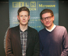 Hugo Godwin (producer) and Sebastian Godwin (writer and director) - The Visitor