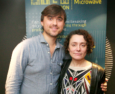 Patrick Dickinson (writer and director) and Sophie Venner (producer) - The Blue House