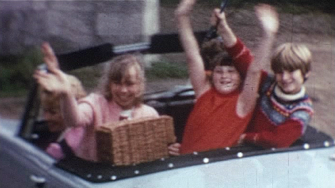 a still from Car Journey, courtesy of Bromley Local Studies and Archives