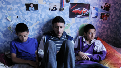 a still from Three Brothers, directed by Aleem Khan through London Calling Plus 2014