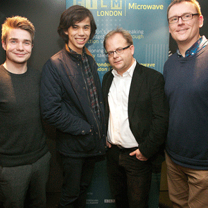 Greer Ellison (writer), Rafal Kapelinski (director), Merlin Merton and David Braithwaite (producers) - Butterfly Kisses