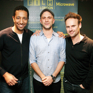 The team behind Engaged, shortlisted for Microwave