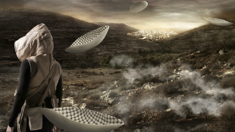 In the Future, They Ate From the Finest Porcelain, Larissa Sansour