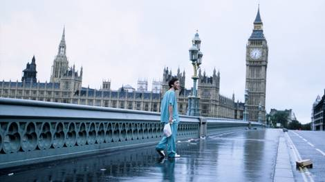Image of Iconic still from 28 Days Later on Westminster Bridge