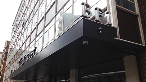 Image of Entrance to BFI Stephen Street