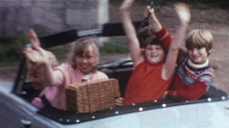 Image of a still from Car Journey, courtesy of Bromley Local Studies and Archives
