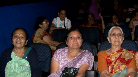 Image of An audience watch Percy at Vue Croydon, courtesy of Apsara Arts