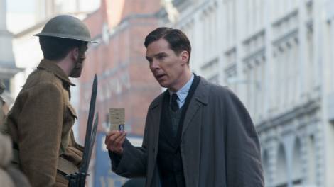 Image of Benedict Cumberbatch in an Imitation Game