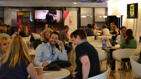 Image of London Screenings 2014 delegate centre