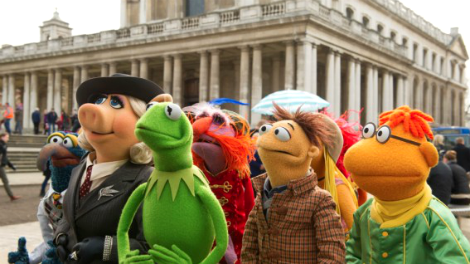 Image of the Muppets in London