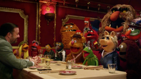 Image of the Muppets in Berlin... or are they?
