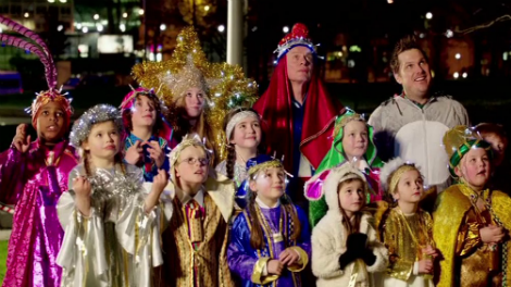 Image of the cast of Nativity 3: Dude Where's My Donkey? at Jubilee Gardens