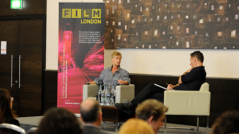 Image of Alison Thompson delivers the PFM 2014 keynote speech