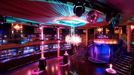 Location of the Month Cafe de Paris main room bar