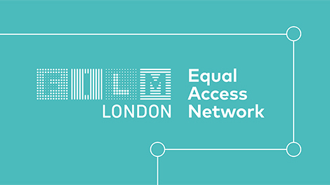 Image of Equal Access Network graphic web