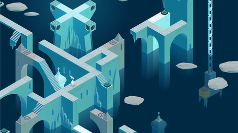 Image of film still video game Monument Valley