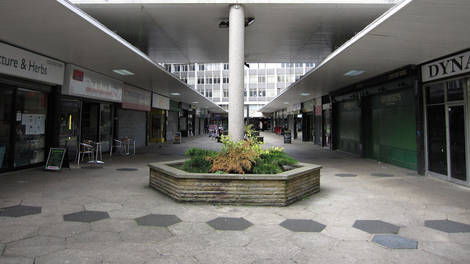 Image of A covered shopping area in Croydon
