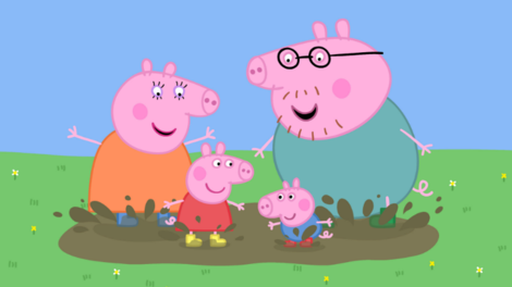 Image of film still Animation Peppa Pig