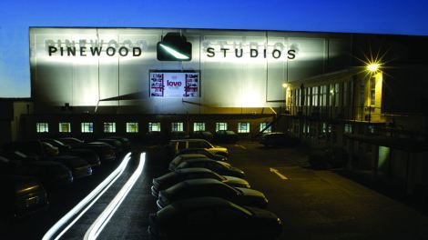 Image of studio Pinewood exterior