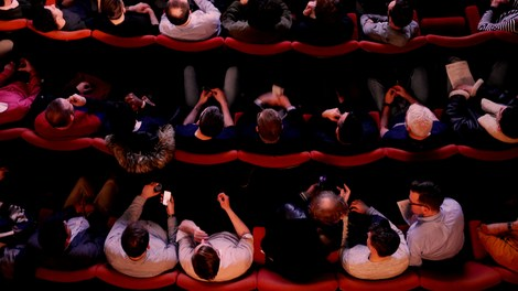 Image of hub Cinema audience Fringe