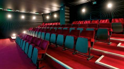 Image of A cinema auditorium