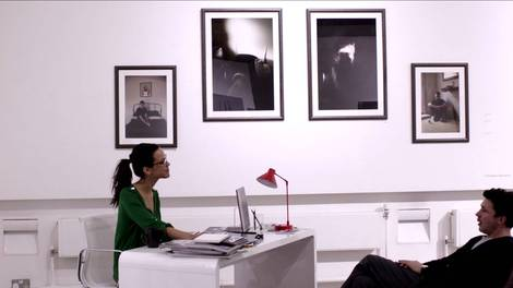 Image of London College of Communications in Still interview scene