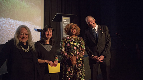 Image of Jules Wright Prize 2017 - award ceremony