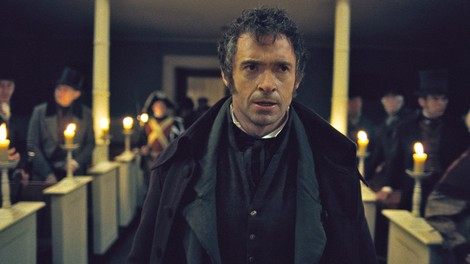 Image of Hugh Jackman stars as Jean Valjean in Universal Pictures' Les Miserables (2012)