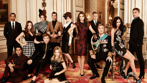 Image of The cast of The Royals from E! Entertainment