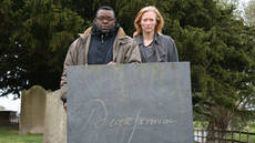 Image of Isaac Julien and Tilda Swinton