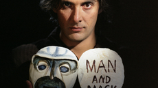 Image of Man and Mask by Daria Martin, A Movies 2005