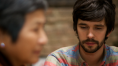 Image of Ben Whishaw and Cheng Pei Pei in Lilting