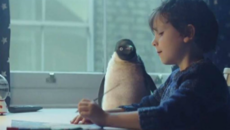 Image of a still from the 2014 John Lewis Christmas advert