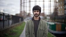 Image of Ben Whishaw on Regent's Canal in Lilting