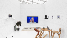 Image of Installation view Cécile B. Evans, Hyperlinks or it didn't happen, 2014