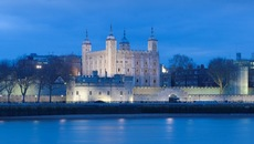 Image of Tower of London at night