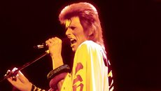 Image of film still David Bowie as Ziggy Stardust
