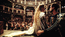 Image of Gwyneth Paltrow and Joseph Fiennes in Shakespeare in Love - a film produced by new Chair of Film London, David Parfitt